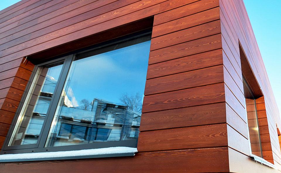 фасад из планкена лиственницы фото поддержку развития