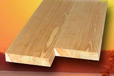 Доска строганная из лиственницы сорт Прима 20х90x4